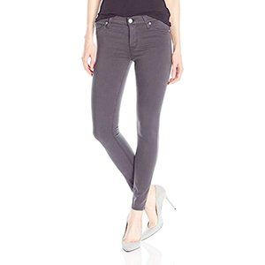 Hudson Nico Mid rise skinny ankle grey jeans